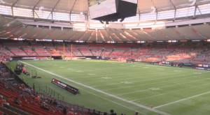 Lions welcome back fans to BC Place Stadium (01:53)