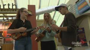 Calgary Ukulele Festival features 5-minute lessons: 'It's cool, like a party trick!'