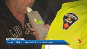 Ontario offers plea deals to impaired drivers amid court backlog (02:09)