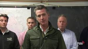 California governor says statewide emergency in place over wildfires