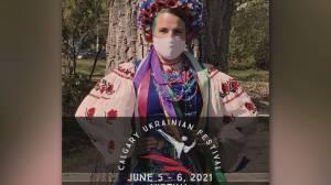 Calgary Ukrainian Festival goes virtual with drive-thru perogy option (03:22)