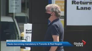 Coronavirus: Toronto passes bylaw making masks mandatory indoors