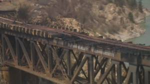 Lytton residents react to TSB report not linking railway to deadly fire (02:23)