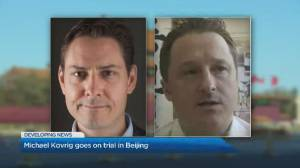 Trial for detained Canadian Michael Kovrig ends in Beijing, verdict to be announced later (06:17)