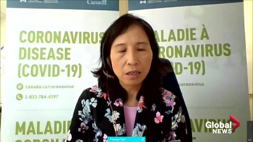 คลิกเพื่อเล่นวิดีโอ: 'แพทย์ชั้นนำของแคนาดากล่าวว่าคำสั่งวัคซีนช่วยในการดูดซึม ผลกระทบต่อการแพร่กระจายของ COVID-19 'ยังคงต้องรอดู'