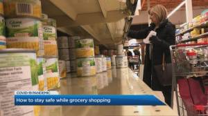 Do you need to disinfect groceries before eating?
