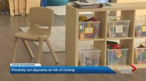 Coronavirus: Toronto's privately run daycares in jeopardy of closure (02:03)