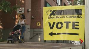 Canada election: British Columbians head to the polls (01:52)