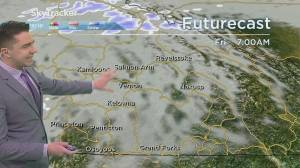 Kelowna Weather Forecast: April 1 (03:26)