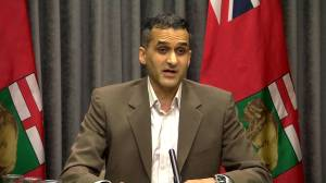Manitoba acknowledges significant delays at COVID-19 vaccination supersite (00:59)