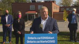 Coronavirus: Ontario Premier Ford responds to criticism by Mark McEwan, says focus is on health (05:09)