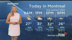 Global News Morning weather forecast: July 2, 2020