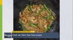 Recreating Chef Jet Tila's world famous pad thai recipe at home (05:54)