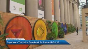 Experience The Union Boardwalk for free until Oct. 16