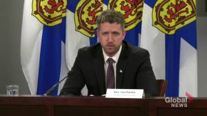 Details on Atlantic Bubble to be finalized by April 19: Nova Scotia Premier Rankin (00:36)