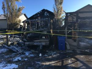 Thursday morning blaze destroys Lethbridge home and damages neighbouring properties