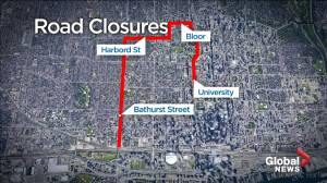 Numerous road closures to be in place for Scotiabank Toronto Waterfront Marathon