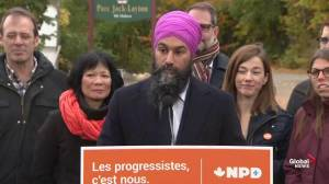 Federal Election: Singh invokes Jack Layton's legacy in Quebec