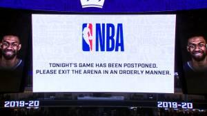 Coronavirus outbreak: Fans boo as Pelicans, Kings game postponed