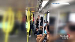 'Go back to Africa, go back to China': Racist rant captured on Calgary CTrain