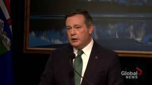 Premiers' demands not met in throne speech, says Alberta Premier Jason Kenney (01:59)