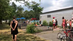NDG residents complain of long lineup and long waits to gain entry to community pools