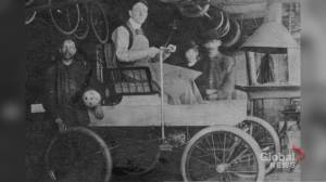"""Re-creating the """"Fossmobile,"""" Canada's first gas-powered automobile (03:59)"""