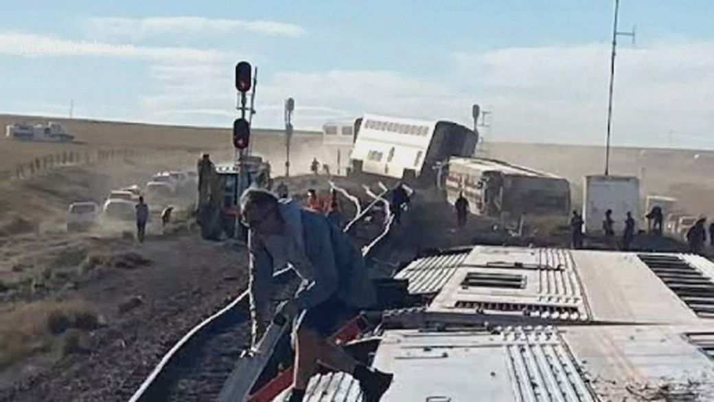 Click to play video: 'Investigation underway into deadly Amtrak derailment in Montana'