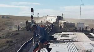 Investigation underway into deadly Amtrak derailment in Montana (01:41)
