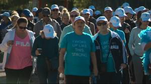 Walk in Saskatoon supports women with ovarian cancer