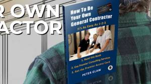 General contractor Peter Glaw has written a book on how to be your own General Contractor (05:11)