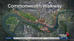 Edmonton's Commonwealth Walkway to open in September
