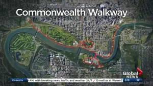Edmonton's Commonwealth Walkway to open in September