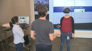 Virtual reality: UBC Okanagan first to offer 'immersive technologies' graduate program (02:13)