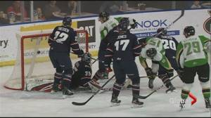 Lethbridge Hurricanes fall to Raiders in a battle for top spot in the WHL