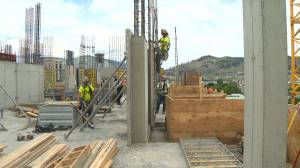 Downtown Kelowna is growing skyward as more high-rises are being built in the heart of the city.
