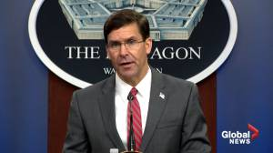 George Floyd death: Mark Esper says he doesn't support invoking Insurrection Act to quell protests