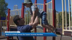 Ontario lower income parents facing back to school stress (03:06)