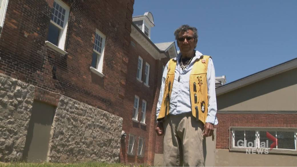 Click to play video: 'Residential school survivor wants grounds of all former sites searched'