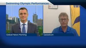 Canadian Olympic performance inspiring Saskatoon swimmers (03:41)