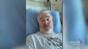 Calgary comedian battling COVID-19 says he didn't take coronavirus seriously before falling ill (01:56)