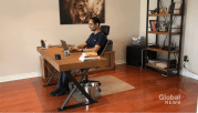 Play video: How working from home could negatively affect health