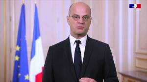 French education minister expresses sympathies following attack in Paris suburb