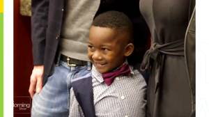 Boy invites entire kindergarten class to his adoption hearing