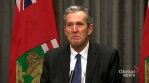 Coronavirus outbreak: Pallister shares emotional message of hope for self-isolating Manitobans