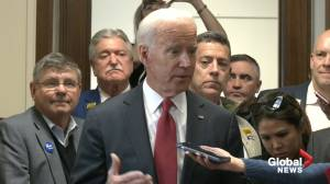 Biden says he 'welcomes' possible competition from Michael Bloomberg