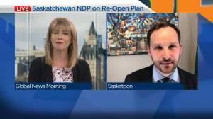 NDP leader Ryan Meili on the reopening of Saskatchewan