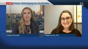 Former Winnipegger researching COVID-19 in Australia (03:42)