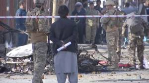 At least 3 dead, 14 wounded after bombing in Kabul (00:35)
