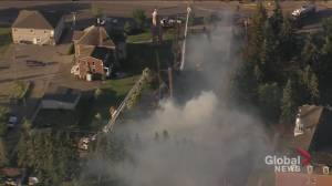 Catholic church in Morinville destroyed by fire (02:09)